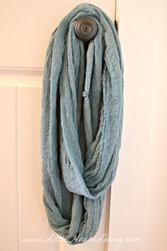 Infinity Scarf Pattern how to make your own....it's SO easy!