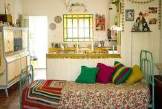 Interiores #102: Sobredosis de color – Casa Chaucha
