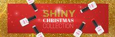 """La collezione """"Shiny Christmas"""" propone una selezione di colori dello smalto semipermanente Non Stop Color™ di La Femme® ispirata ai classici colori del Natale e gli scintillanti bagliori del Capodanno."""