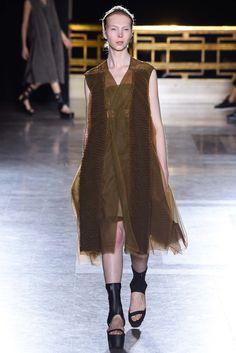 Rick Owens #Spring15 #RTW #emownswear #runway #fashion #ParisFW Style.com