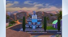 Check out this lot in The Sims 4 Gallery! - Space House