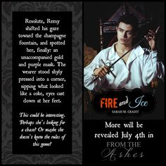 A teaser promo from Fire & Ice (short story featured in From the Ashes)