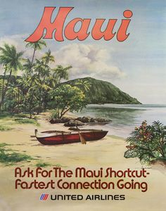 United Airlines ~ Maui