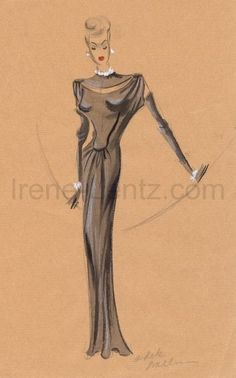 Hollywood Costume Designer Irene | Bret Fowler Collection of Irenes (Compact View)