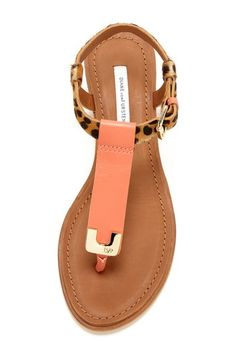 DVF Dion Sandal. I need these in my life!