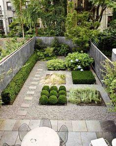 cour arrière de rêve- idées d'aménagement paysager petit espace sans pelouse
