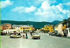 Vintage Postcards, Norway, Street View, Vintage Travel Postcards