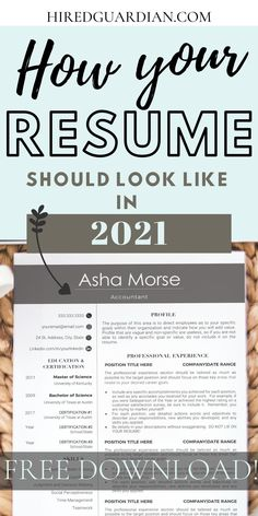 In 2021 you need to step up your resume gaming plan! We share modern resume templates ideas to make your resume much better. As a recruiter, No one wants an outdated resume design and we're here to show you how your resume should look like in 2021! #modernresume #professionalresume #resumetemplate