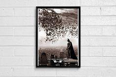 THE DARK KNIGHT RISES MINIMAL FRAMED ART POSTER Batman Merchandise, Batman Poster, Online Posters, The Dark Knight Rises, Framed Art, The Darkest, Minimal, Artist, Stuff To Buy