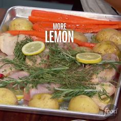 Sunny shares an easy roasted chicken recipe you can do on one sheet pan. Try her Roasted Rosemary and Thyme Chicken, Carrots and Potatoes as your next dinner side!
