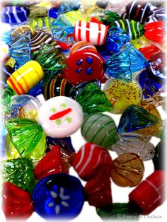 Caramelos de cristal de Murano