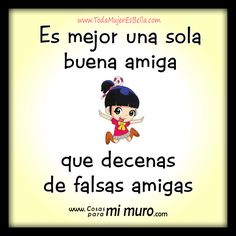 Resultado de imagen para frases de indirectas para amigas falsas False Friends, Spanish Quotes, Birthday Wishes, Bff, Friendship, Family Guy, Letters, Thoughts, Sayings