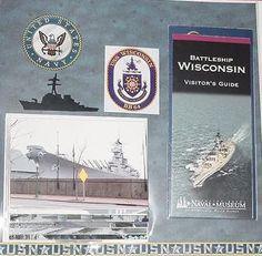 USS Wisconsin LO, Rt. - Album For Friend - Scrapbook.com