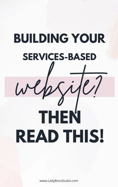 Build Your Services-Based Website? Then Read This! Ready to build your services-based website but unsure what pages you need? Check out our post to find out! Business Marketing, Business Tips, Online Business, Business Quotes, How To Start A Blog, How To Find Out, Online Entrepreneur, Work From Home Jobs, Online Work