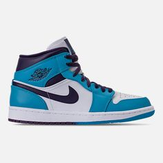 a44cdc085b2c Men s Air Jordan Retro 1 Mid Retro Basketball Shoes (Finish Line) Jordan  Retro 1