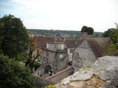Vue de la ville haute de Provins - 2009
