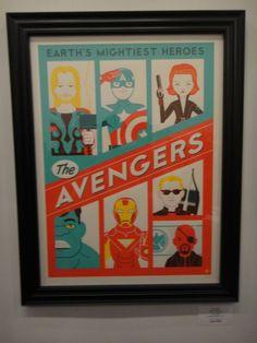 ภาพถ่ายจากงานนิทรรศกาลศิลปะ แรงบันดาลใจจากหนัง The Avengers