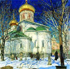 Звенигород. Храм Рождества Богородицы в Звенигороде