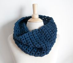 RINOA COWL WOOL SCARF by Threadbare Supply Co - Can't wait to pull out my scarves.