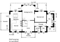 Köpa eller bygga ny villa? Rörvikshus är en mindre och personligare hustillverkare som erbjuder arkitektritade hus och husmodeller. Välkommen! House Floor Plans, Villa, Flooring, How To Plan, Architecture, Inspiration, Maj, Sims 4, Exterior Houses