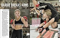 Ronda Rousey in FitnessRX article Apr. 2012  #ArmbarNation See more at RondaRousey.net