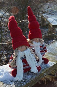 "Elf`s, Santas Little helpers... We call them ""Nisser"""
