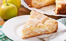 Яблочный пирог с заварным кремом. Бесподобный, ароматный и нежный десерт.