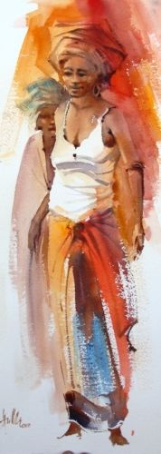 New African Art Painting People Artworks Ideas African Art Paintings, African Artwork, Line Art Projects, Marilyn Monroe Painting, January Art, Graffiti Girl, Black Art Painting, Collaborative Art Projects, Watercolor Portraits