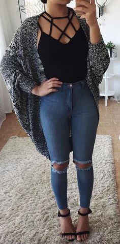 Keep it casual trendy fall outfits, spring outfits for teen girls, summer fashion for Trendy Fall Outfits, Fall Winter Outfits, Outfits For Teens, Spring Outfits, Curvy Girl Outfits, Summer Outfits Casual For Curvy Girls, Teen Party Outfits, School Outfits, Popular Outfits