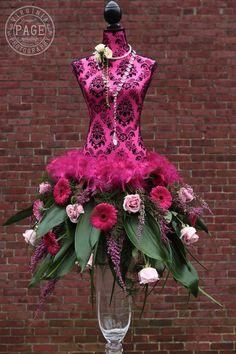 Centro de mesa #moda #vestido