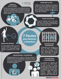7 pautas para gestores y directivos