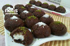 How to make a fabulous Browni Cocostar Cookie (Full Measure) Recipe M. - Yemek Tarifleri - Resimli ve Videolu Yemek Tarifleri Thai Dessert, Trifle, Desert Recipes, Healthy Desserts, Brownies, Deserts, Food Porn, Muffin, Easy Meals