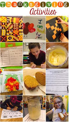 an amazing collection of thanksgiving activities that will make your thanksgiving unit come to life!