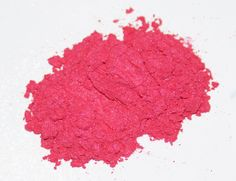 Hot Pink Cosmetic Grade Mica Powder, pink, eye shadow, bath bombs, resin jewelry, soap, candle, nailpolish, rose, pigment, raspberry, neon by MorgansCornerShop on Etsy