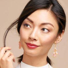 Fabulous in Pink Cluster Earrings   AVON