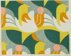 dots and lines are just fine: 1920s textile designs by verneuil