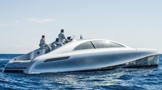 Mercedes-Benz and Silver Arrow Marine launched their new Granturismo 14m luxury yacht off the coast if Nice this week. A capable day boat it is also suitable for overnight stays and features anong other things a wine cellar. Word has it that Nico Rosberg already has one on order. by supercarandclassic