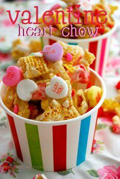 Valentine Heart Chow