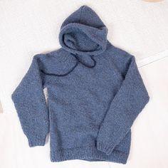 Bluum hettegenser - David til ungdom/voksen i Cuzco - Bluum Indigo, David, Pullover, Hoodies, Sweaters, Fashion, Moda, Sweatshirts, Indigo Dye