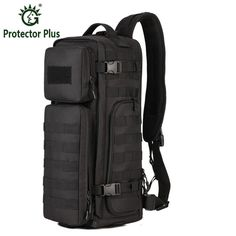 544a5ce0f3 Men Chest Sling Back pack Men's Bags One Single Shoulder Man Large Travel  Military Back packs Molle Bags Outdoors Rucksack-in Climbing Bags from  Sports ...