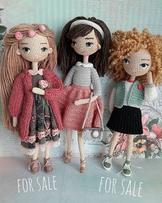 """Mi piace"": 232, commenti: 5 - DOLLS | HANDMADE (@bm_dolls) su Instagram: ""Fashionable girls by @zontik_lena . Модные девчонки от @zontik_lena ✔ Не забываем, куколки…"""