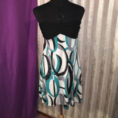 Adorable halter style dress Has light padding super soft and flowing so cute! Vanity Dresses