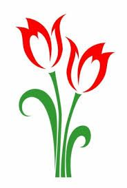 Image result for tulip drawing outline