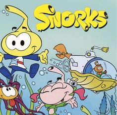 Kid80s.com | If the Snorks felt like a ripoff of The Smurfs, it is because they were.