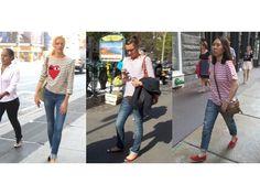 Moda verano 2014 Prendas con rayas - http://www.femeninas.com/moda-verano-2014-prendas-con-rayas/