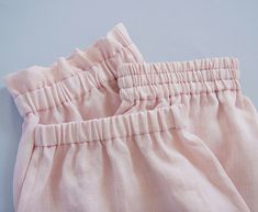 Sewing Glossary: Three Ways To Sew Elastic Waistband Tutorial