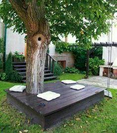 17 easy and cheap curb appeal ideas anyone can do on a budget bildergebnis fr ideas para hacer mesa alrededor de un arbol en el jardin solutioingenieria Images