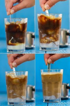 Vietnamská ľadová káva Frappe, Pint Glass, Smoothies, Beer, Punk, Tableware, Desserts, Food, Meals