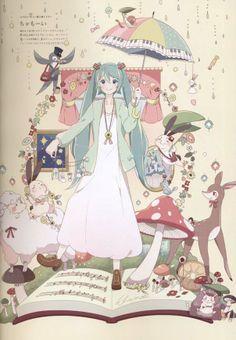 Hatsune Miku x Earth fashion brand #HatsuneMiku
