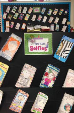 Set your New Year's Goals with your students in a fun and unique way! This all about me selfie New Year's drawing and writing project is a favorite among students and teachers.